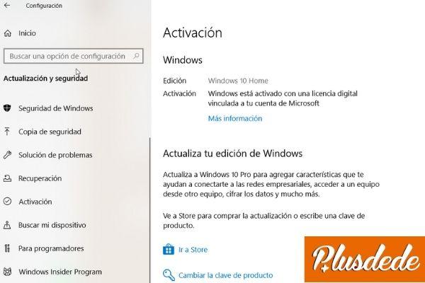 activación windows 10