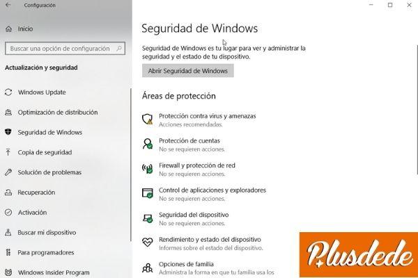 activar windows defender windows 10