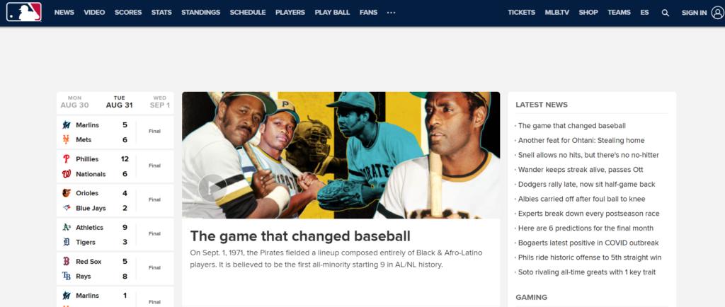 ver béisbol en línea
