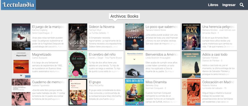 descargar libros en lectulandia