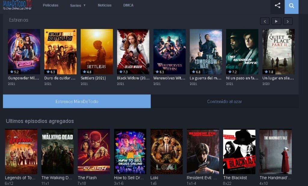 mejores páginas para ver películas gratis en español