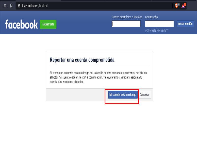 cómo recuperar cuenta de facebook fácil